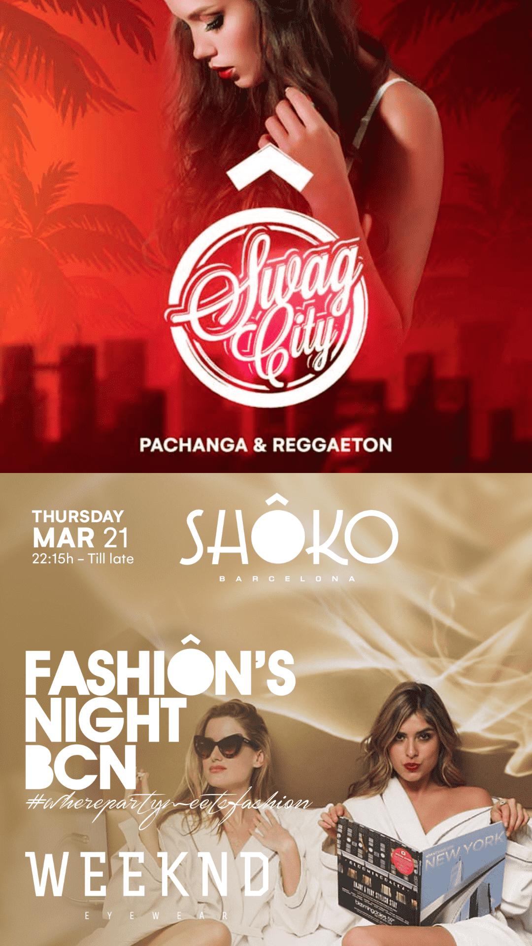 Swag City w/ Fashion's Night Special
