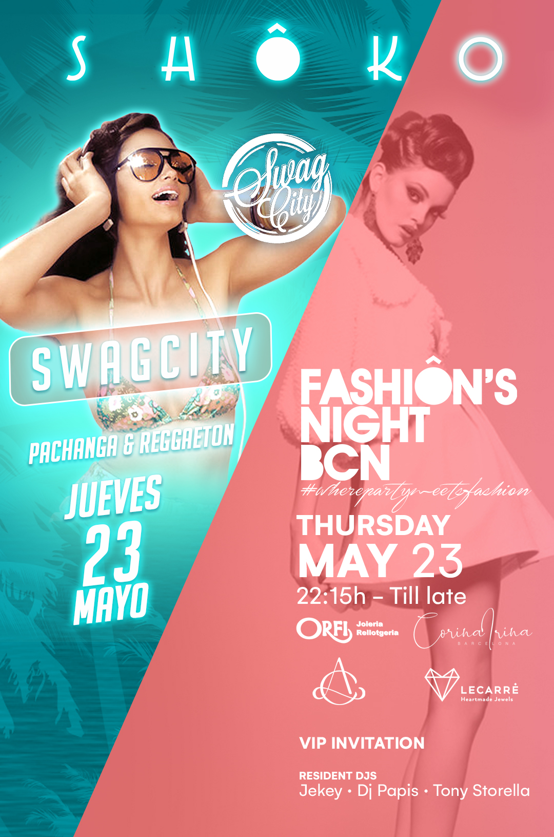 Swag City w/ Fashion's Night Special Thursday