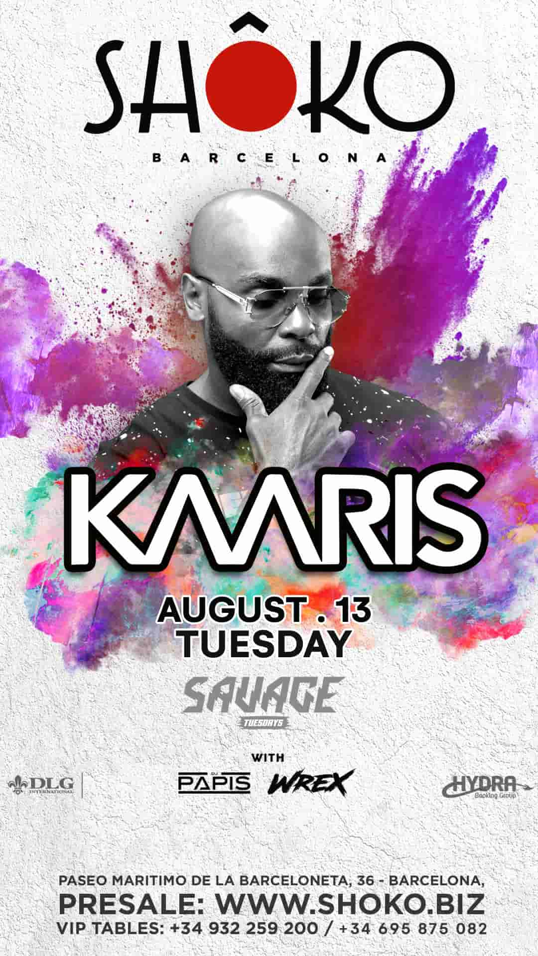 Savage | Kaaris in concert