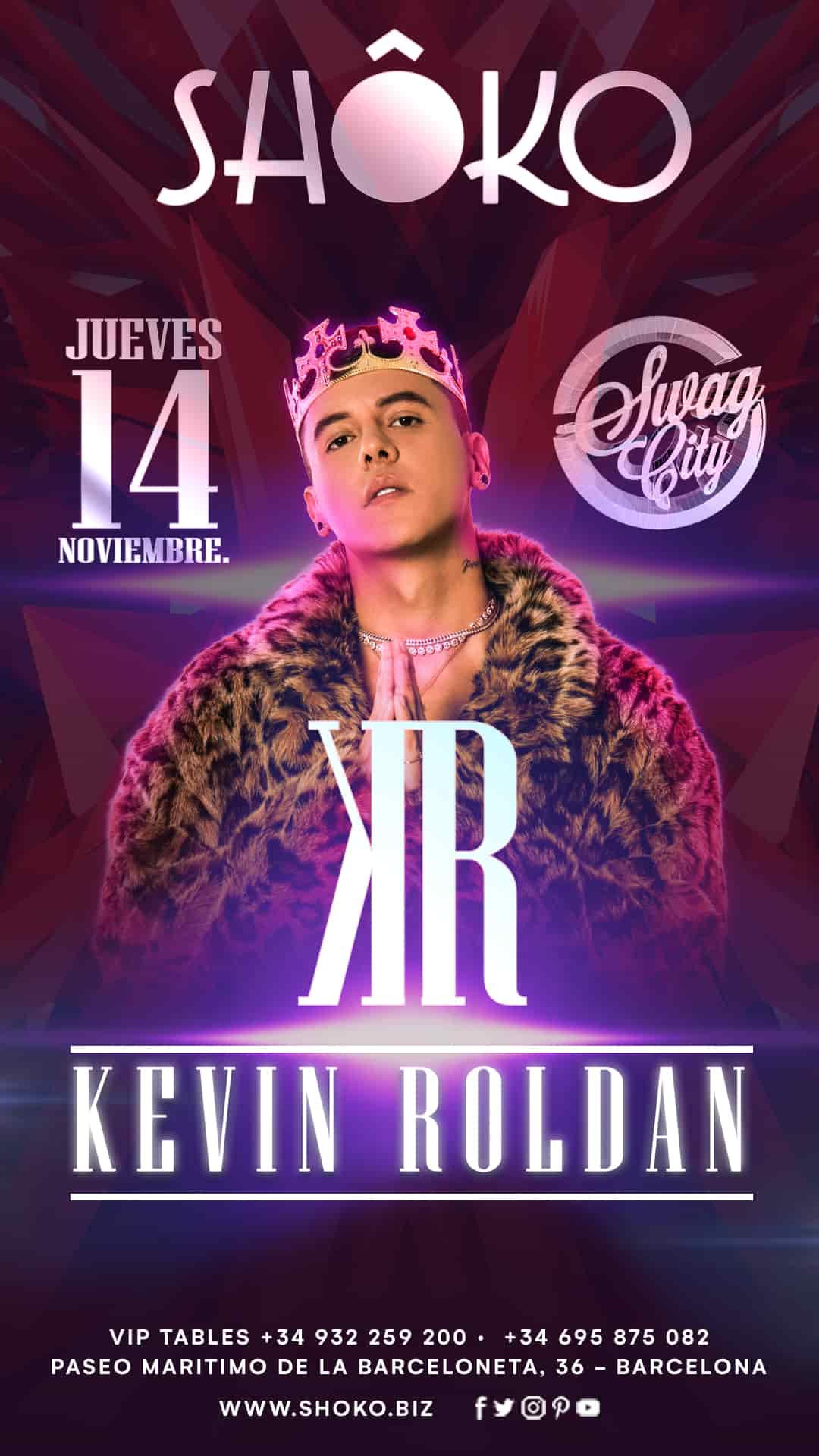 Swag City | Kevin Roldan in Concert