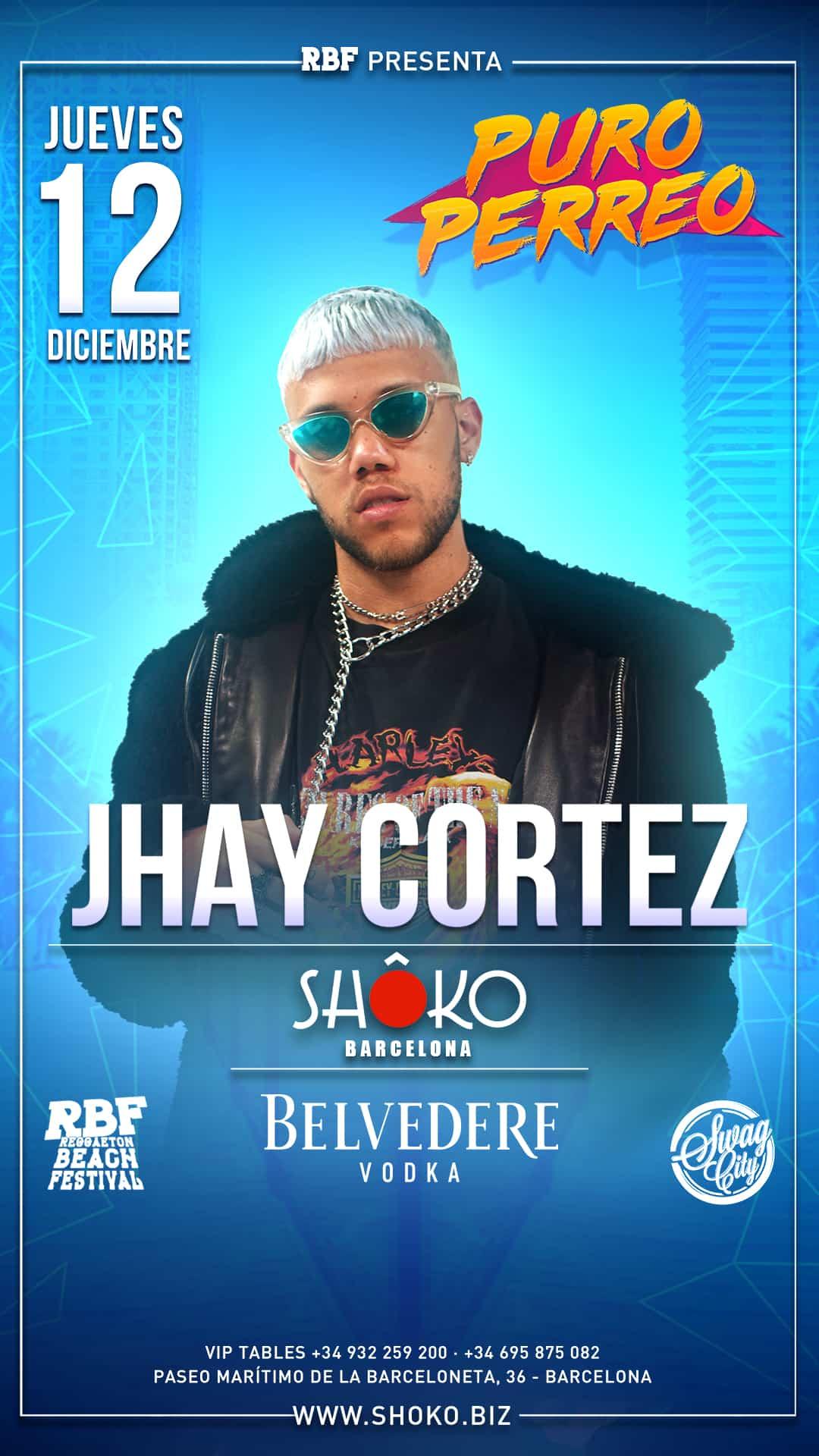 JHAY CORTEZ en Concierto | Swag City X Puro Perreo
