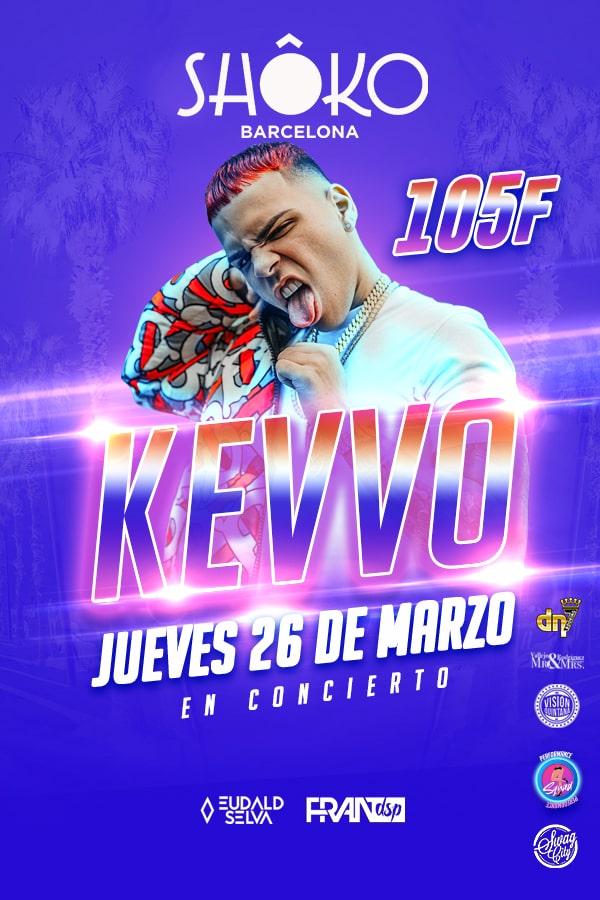 Swag City | KEVVO en concierto